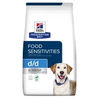 Hill's Prescription Diet Food Sensitivities d/d Dry Dog Food - Duck & Rice