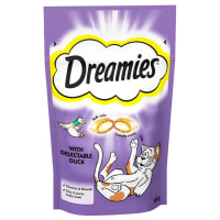 Dreamies Adult & Kitten Cat Treats - Duck