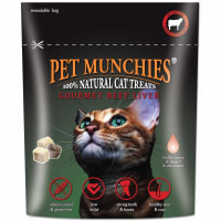 Pet Munchies Freeze Dried Adult Cat Treats - Beef Liver