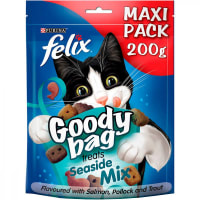 Felix Goody Bag Adult Cat Treats - Seaside