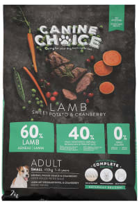 Canine Choice Grain Free Small Adult Dry Dog Food – Lamb