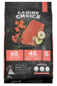 Canine Choice Grain Free Medium Adult Dry Dog Food - Salmon