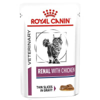 Royal Canin Veterinary Diet Renal Adult Wet Cat Food - Chicken