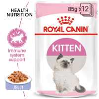 Royal Canin Kitten Instinctive Kitten Cat Wet Food - Jelly