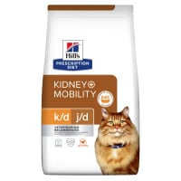 Hill's Prescription Diet Kidney k/d + Mobility Joint Care Adult Dry Cat Food - Chicken
