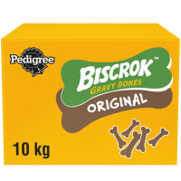Pedigree Biscrok Gravy Bones Biscuits Adult Dog Treats - Original