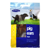 Hollings Pig Ears Dog Treats