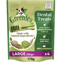 Greenies Grain Free Adult Dental Dog Chews Treat - Large