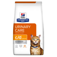 Hill's Prescription Diet Urinary Care c/d Multicare Adult/Senior Dry Cat Food - Chicken