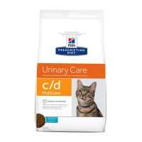 Hill's Prescription Diet Urinary Care c/d Multicare Adult/Senior Dry Cat Food - Ocean Fish