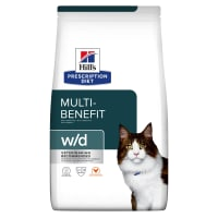 Hill's Prescription Diet Digestive/Weight Management w/d Adult Dry Cat Food - Chicken