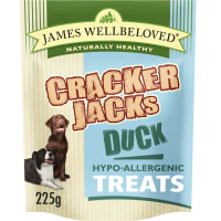 James Wellbeloved CrackerJacks Hypo-Allergenic Dog Treats - Duck