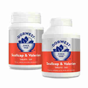 Dorwest Scullcap and Valerian Tablets