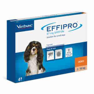 Effipro Spot On for Small Dogs (2-10kg)