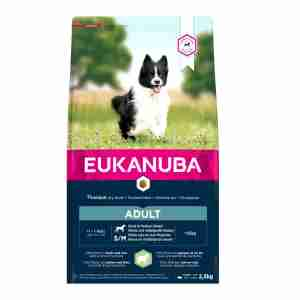 Eukanuba Dog Adult Small & Medium Breed Lamb and Rice