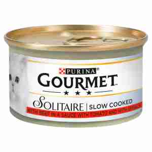Gourmet Solitaire Cat Food