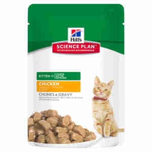 Hill's Science Plan Kitten Tender Chunks