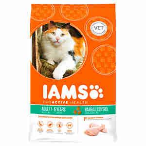 IAMS Cat Hairball