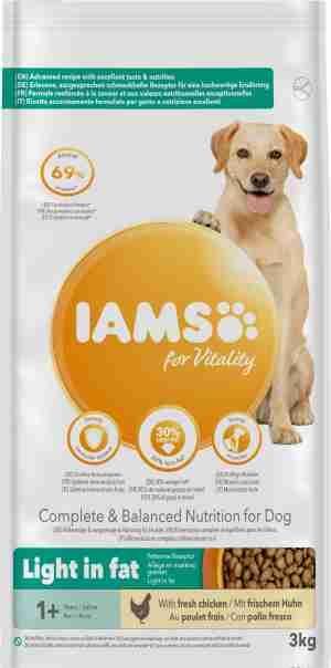 IAMS for Vitality Light Adult Dog Food