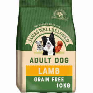 James Wellbeloved Dog Adult Lamb & Vegetable Grain Free