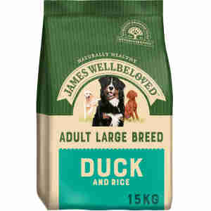 James Wellbeloved Dog Adult Large Breed Duck & Rice