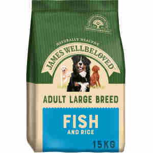 James Wellbeloved Dog Adult Large Breed Fish & Rice