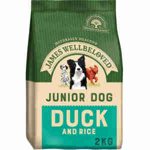 James Wellbeloved Dog Junior Duck & Rice