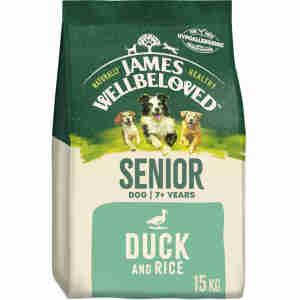 James Wellbeloved Dog Senior - Duck & Rice