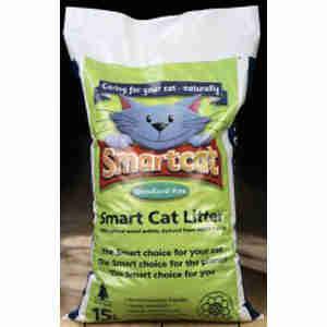 Smart Cat 100% Organic Wood Cat Litter