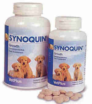 Synoquin Growth Tabs for Dogs