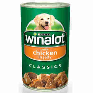 Winalot Adult Dog Food Classics Cans