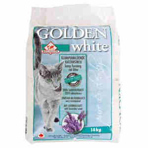 Golden White Cat Litter with Lavender Scent