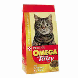 PURINA Omega Adult Cat Food Chicken & Duck