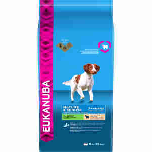 Eukanuba Dog Mature & Senior Lamb & Rice