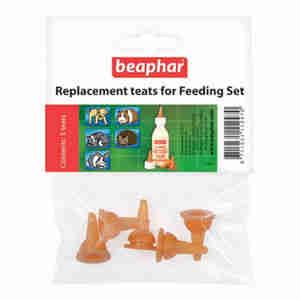 Beaphar Replacement Teats For Feeding Set