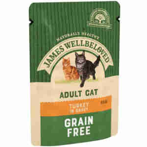 James Wellbeloved Adult Cat Turkey Pouch
