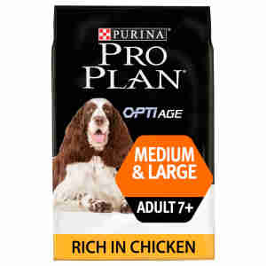 Purina Pro Plan Medium & Large Adult 7+ Dog Chicken