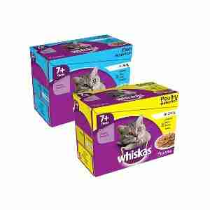 WHISKAS 7+ Cat Pouches in Jelly