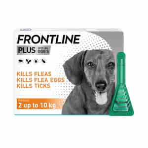 Frontline Plus Spot-On For Small Dogs (2-10kg)