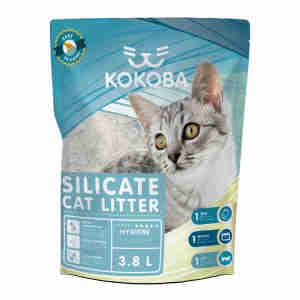 Kokoba Silicate Cat Litter for Odour Control