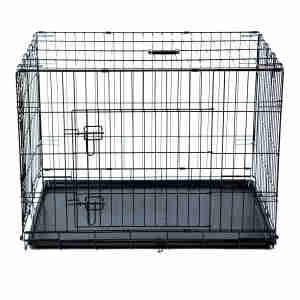 Kokoba Metal Travel Cage for Dogs