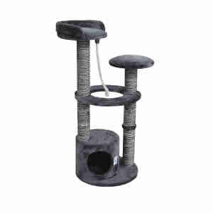 Kokoba Medium Cat Scratching Tree - Black Sisal
