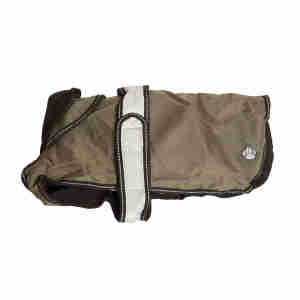 Danish Design Khaki 2 in 1 Ultimate Dog Coat
