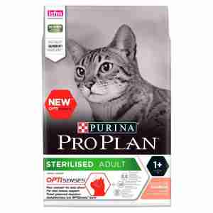 Purina Pro Plan Cat Adult Sterilised with Optirenal Rich in Salmon Dry Food