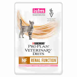 Purina Pro Plan Veterinary Diets Feline NF St/OX Renal Function Wet Food Pouch With Salmon