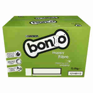 BONIO Happy Fibre Biscuit Box Adult Dog