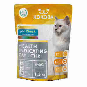 Kokoba Silicate Health Monitor Cat Litter