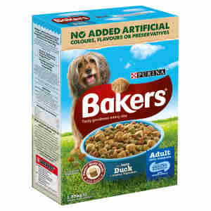 Bakers Adult Duck And Vegetable Dry Dog Food