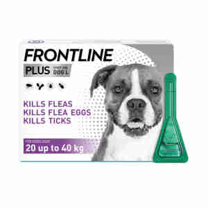 Frontline Plus Spot-On for Large Dogs (20-40kg)