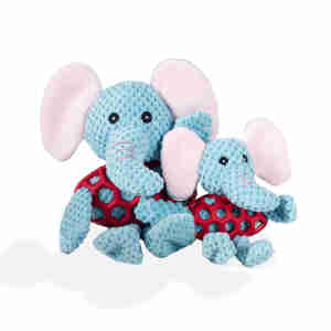 Kokoba Ellie The Elephant Soft Plush Dog Toy